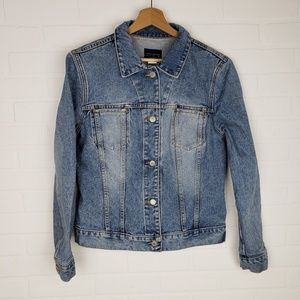 The Limited Classic Denim Jean Jacket M